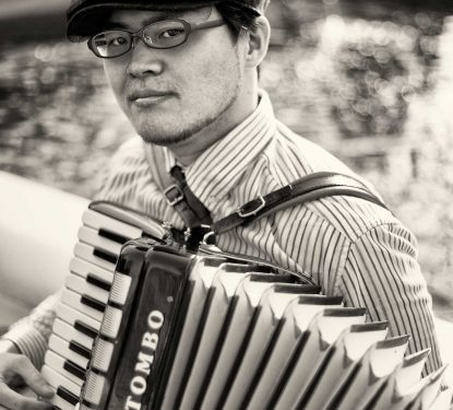 Accordion Player, Yoyogi Park, Harajuku, Japan