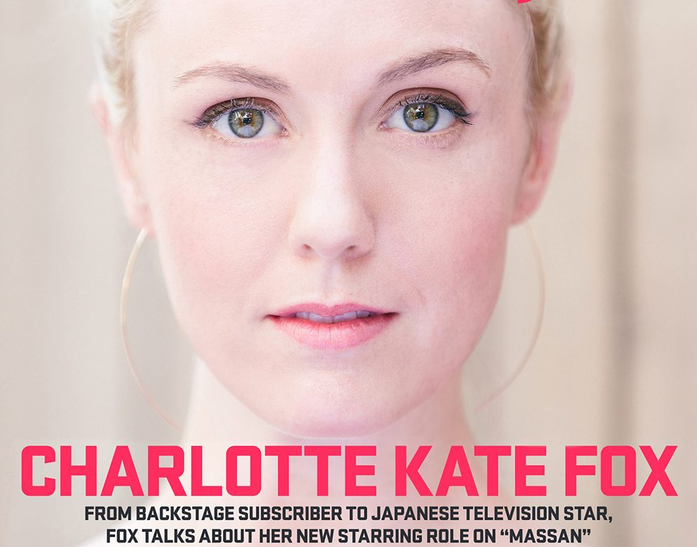 Charlotte Kate Fox, Actress, for Backstage Magazine