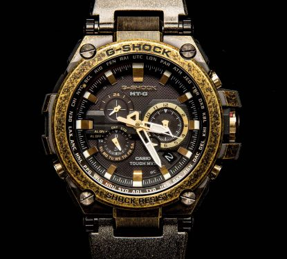 Casio G-SHOCK MG-T watch